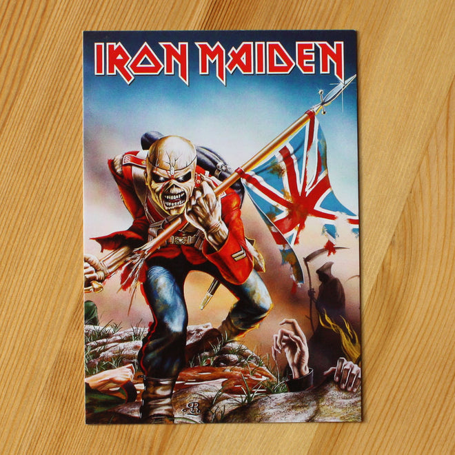 Iron Maiden - The Trooper (Postcard)
