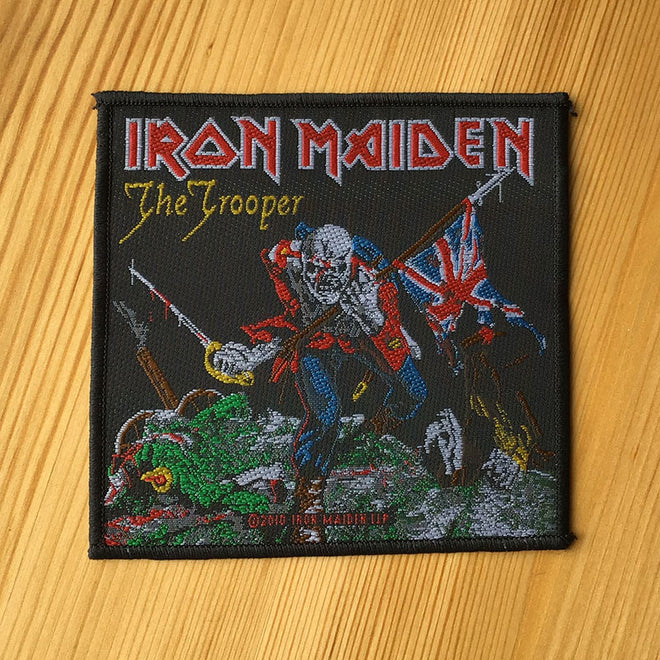 Iron Maiden - The Trooper (Woven Patch)