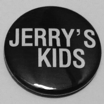 Jerry's Kids - White Logo (Badge)