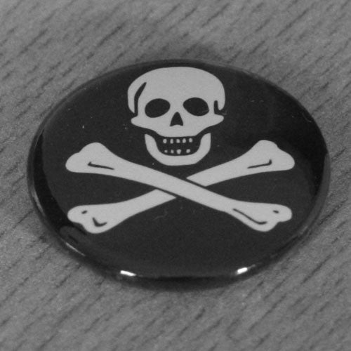 Jolly Roger Skull and Crossbones - Edward England (Badge)