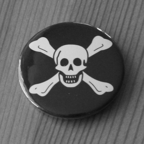 Jolly Roger Skull and Crossbones - Richard Worley (Badge)