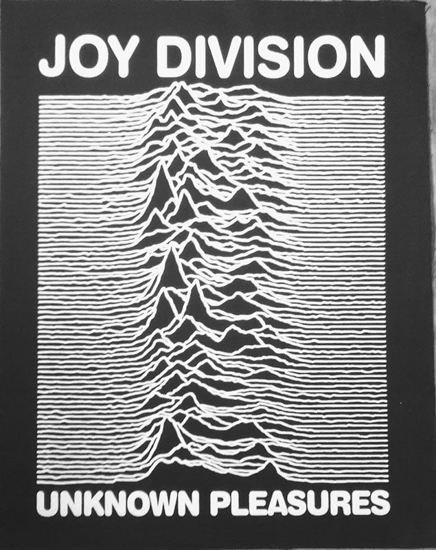 Joy Division - Unknown Pleasures (Backpatch)