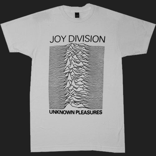 Joy Division - Unknown Pleasures (Black on Grey) (T-Shirt)