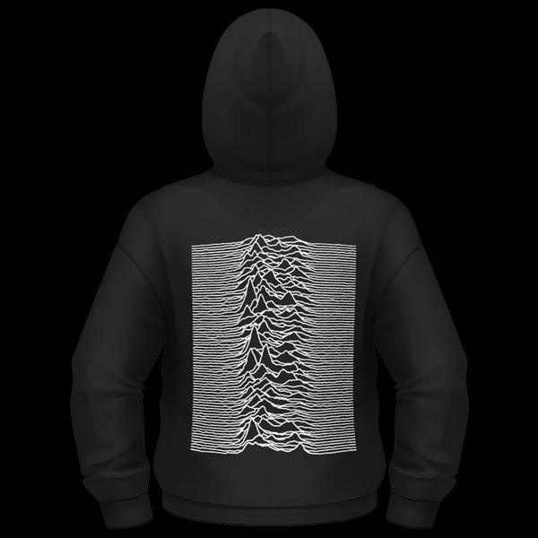 Joy Division - Unknown Pleasures (Full Zip Hoodie)