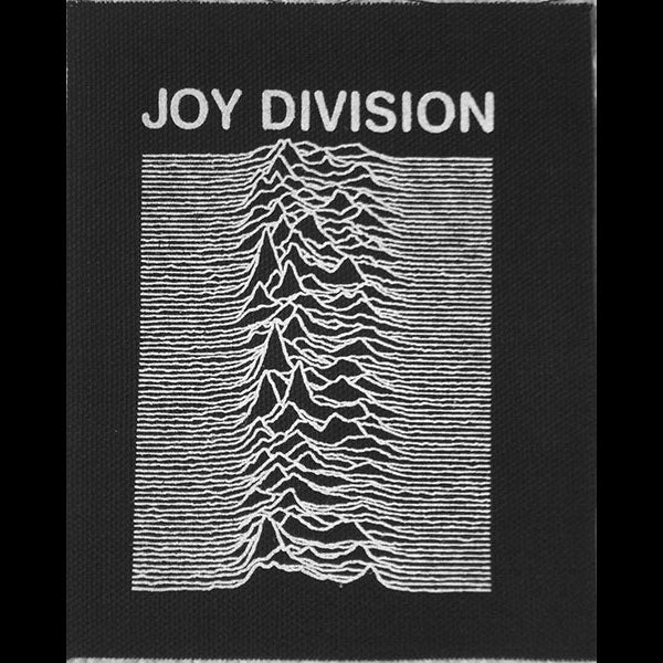 Joy Division - Unknown Pleasures (Leather) (Printed Patch)