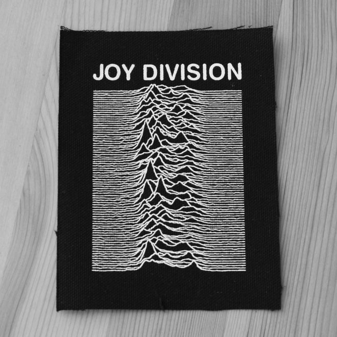 Joy Division - Unknown Pleasures (Printed Patch)