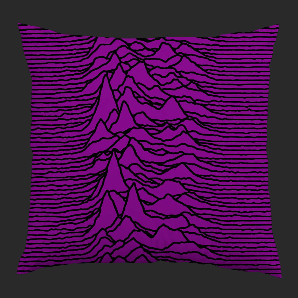 Joy Division - Unknown Pleasures (Purple) (Cushion)