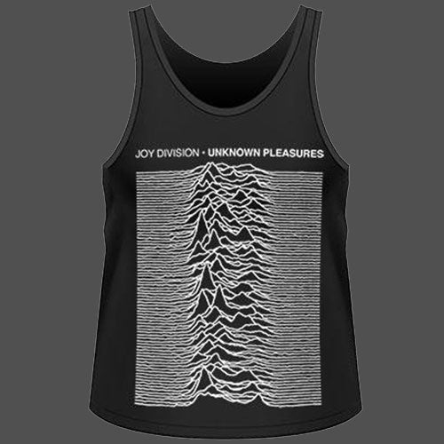 Joy Division - Unknown Pleasures (Tank Vest)