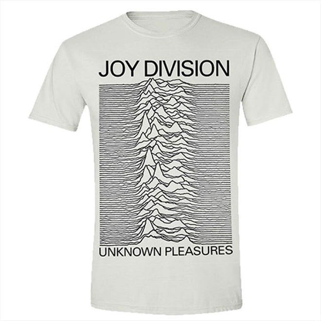 Joy Division - Unknown Pleasures (White) (T-Shirt)