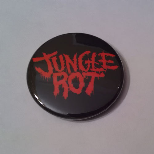 Jungle Rot - Red Logo (Badge)