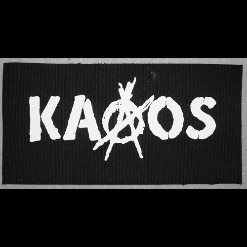 Kaaos - Logo (Printed Patch)