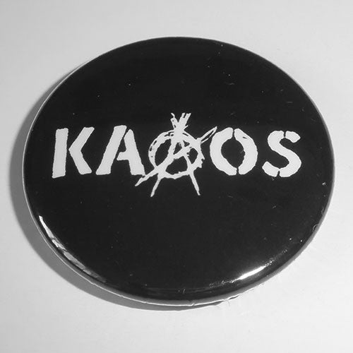 Kaaos - White Logo (Badge)