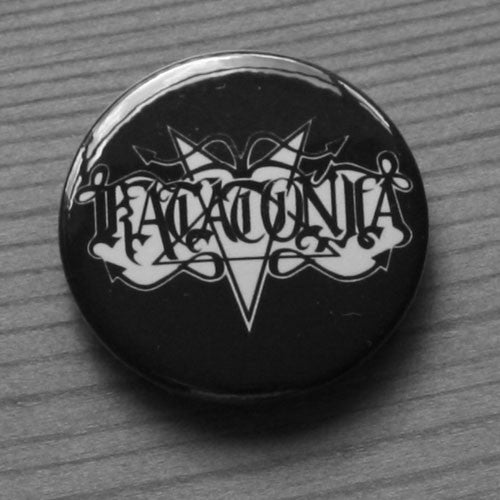 Katatonia - White Old Logo (Badge)