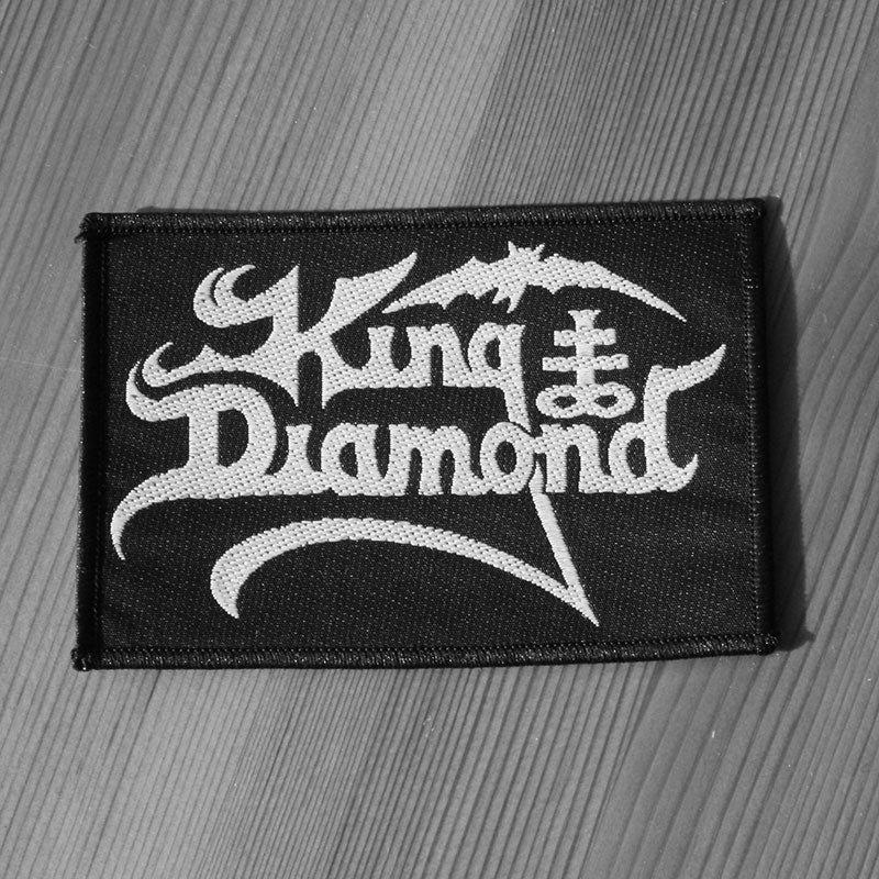 King Diamond - Logo (Woven Patch)