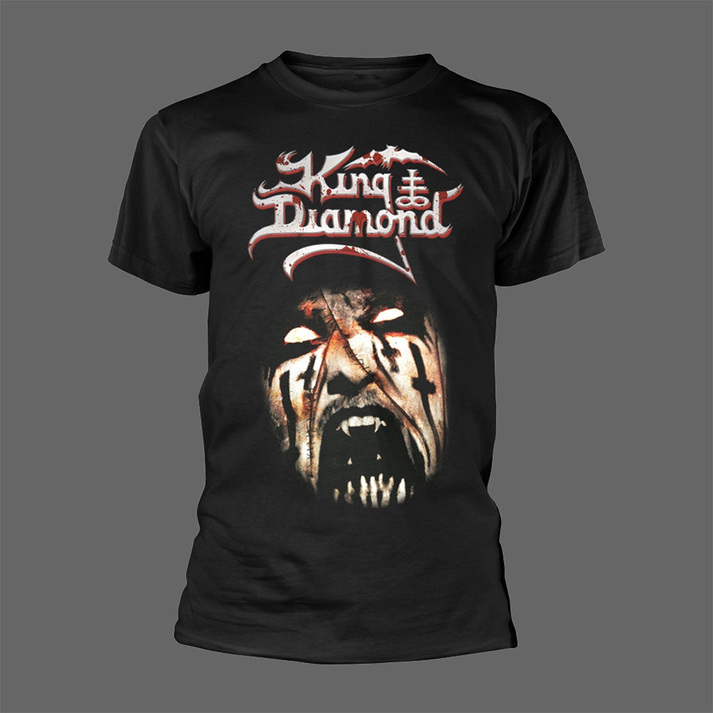 King Diamond - The Puppet Master (Face) (T-Shirt)
