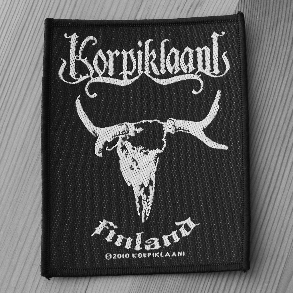 Korpiklaani - Finland (Woven Patch)