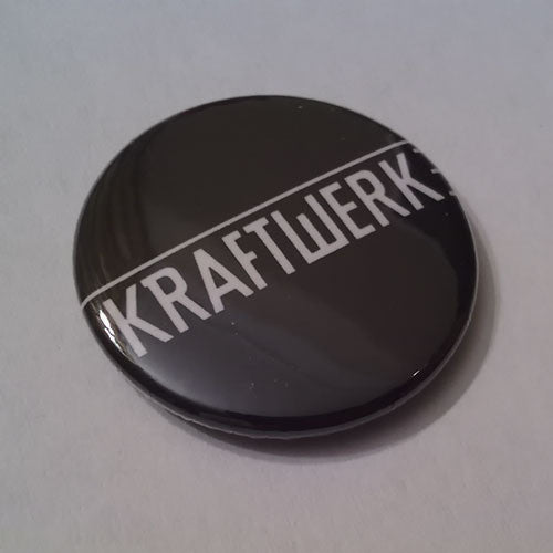 Kraftwerk - White Logo (Badge)