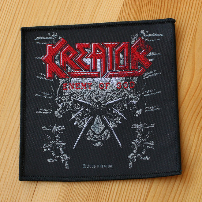 Kreator - Enemy of God (Woven Patch)