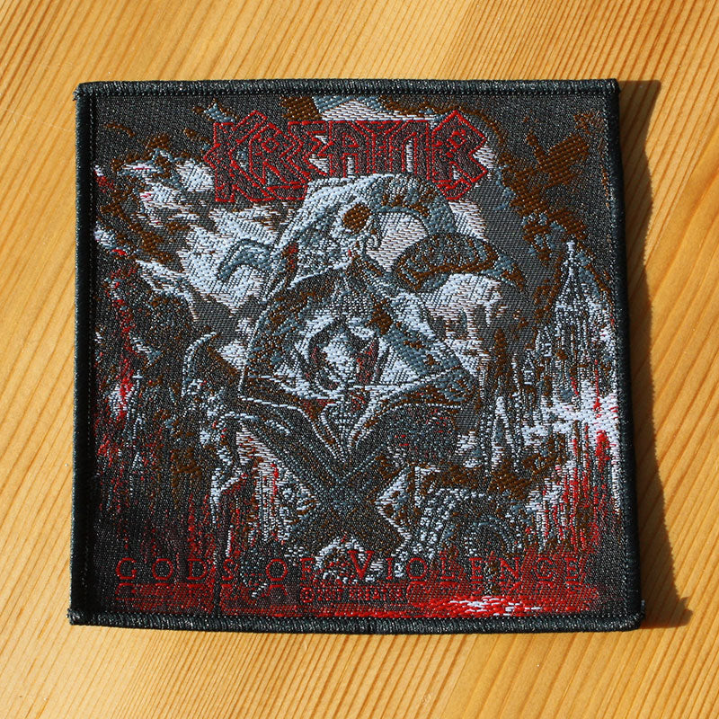 Kreator - Gods of Violence Cover (Woven Patch)