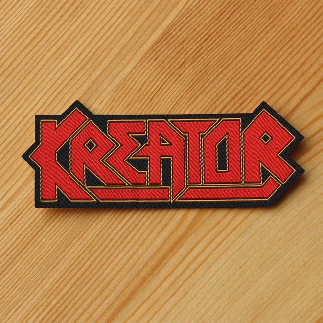 Kreator - Logo (Cut-out) (Woven Patch)