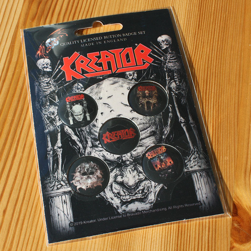 Kreator - Skull & Skeletons (Badge Pack)