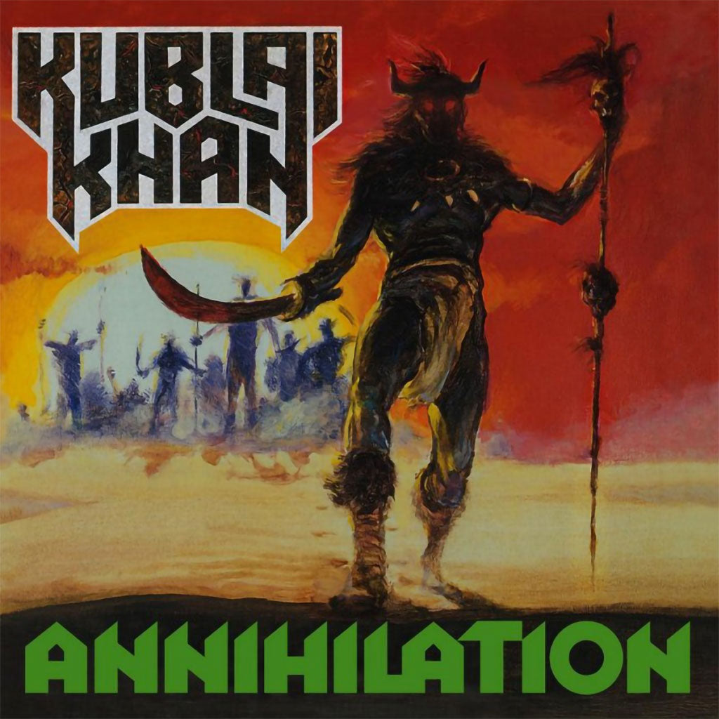 Kublai Khan - Annihilation (2017 Reissue) (Digibook CD)