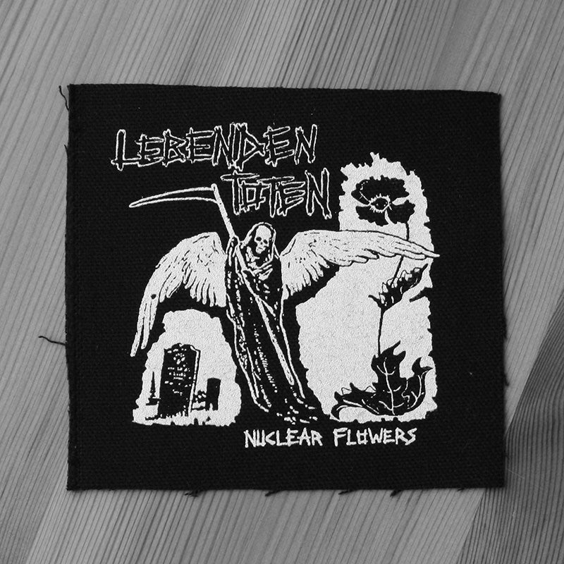 Lebenden Toten - Nuclear Flowers (Printed Patch)