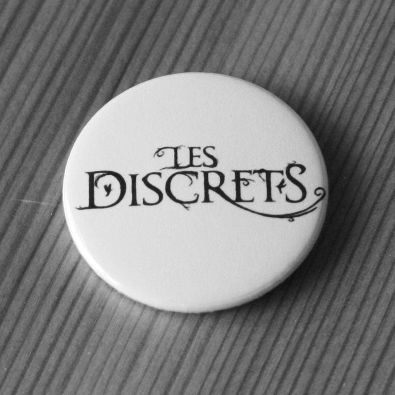 Les Discrets - Black Logo (Badge)