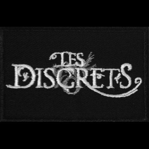 Les Discrets - White Logo (Embroidered Patch)