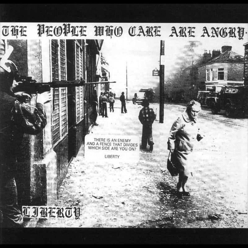 Liberty - The People Who Care Are Angry (CD)