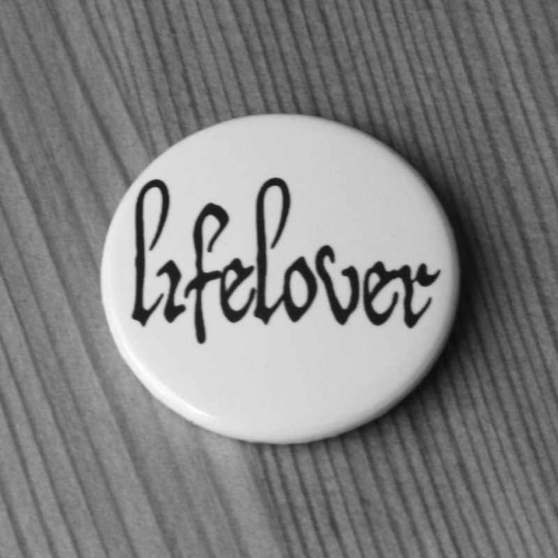 Lifelover - Logo (Black) (Badge)