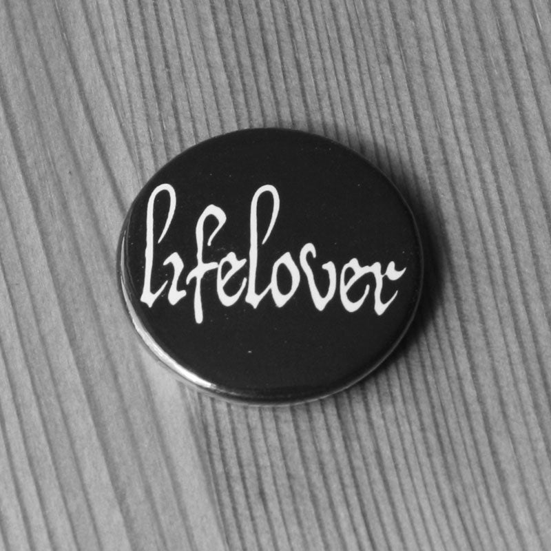 Lifelover - Logo (White) (Badge)