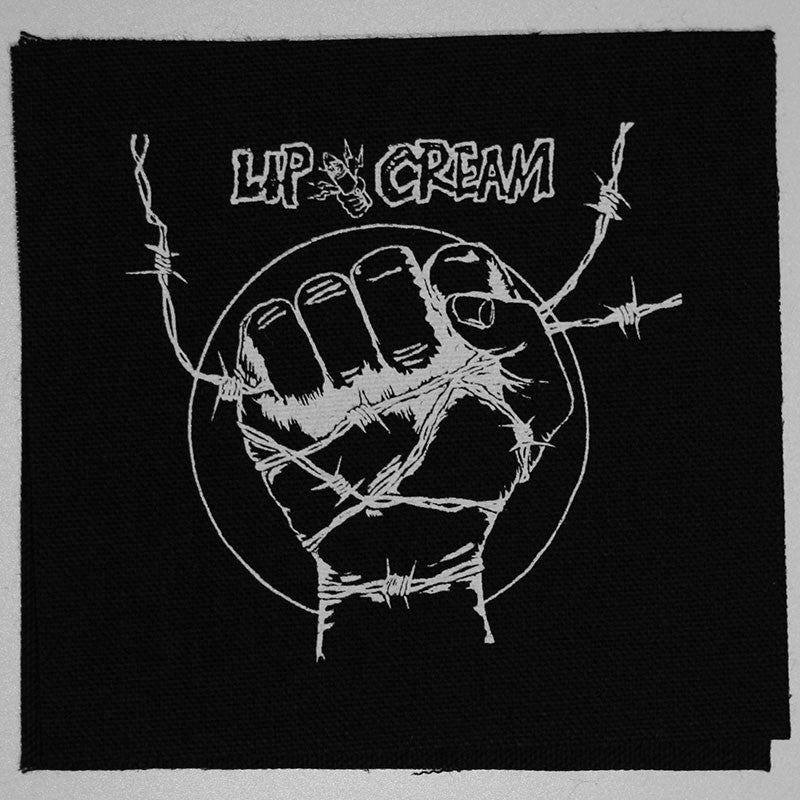 Lip Cream - Logo / 9 Shocks Terror (Printed Patch)