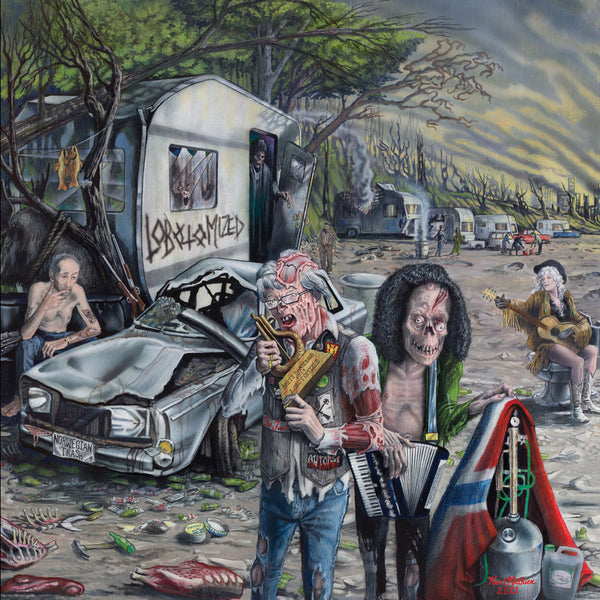 Lobotomized - Norwegian Trash (LP)