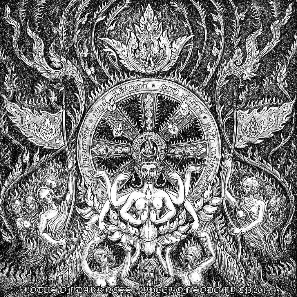 Lotus of Darkness - Wheel of Sodomy (CD)