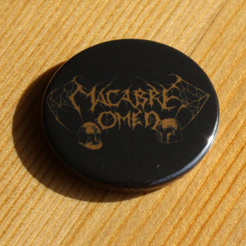 Macabre Omen - Bronze Logo (Badge)