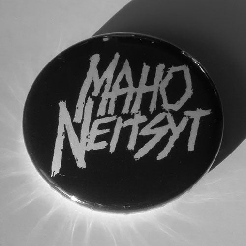 Maho Neitsyt - White Logo (Badge)