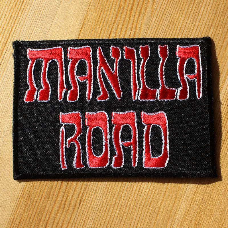 Manilla Road - Logo (Embroidered Patch)