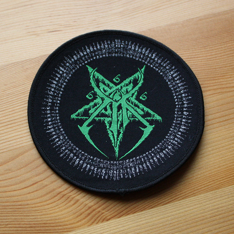 Mantak - Green Logo (Circle) (Woven Patch)