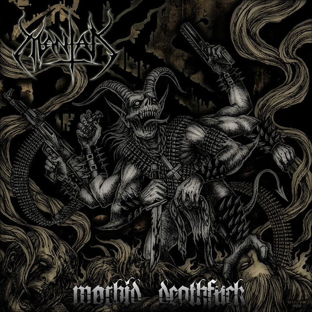 Mantak - Morbid Deathfuck (CD)