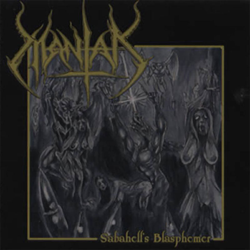 Mantak - Sabahell's Blasphemer (CD)
