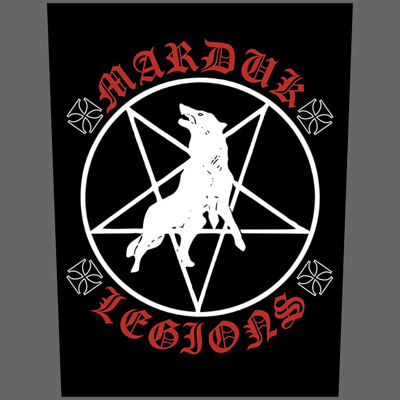 Marduk - Legions (Backpatch)