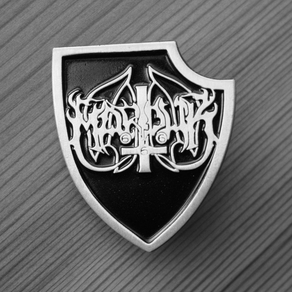 Marduk - Logo Shield (Metal Pin)