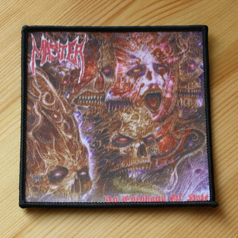 Master - An Epiphany of Hate (Woven Patch)