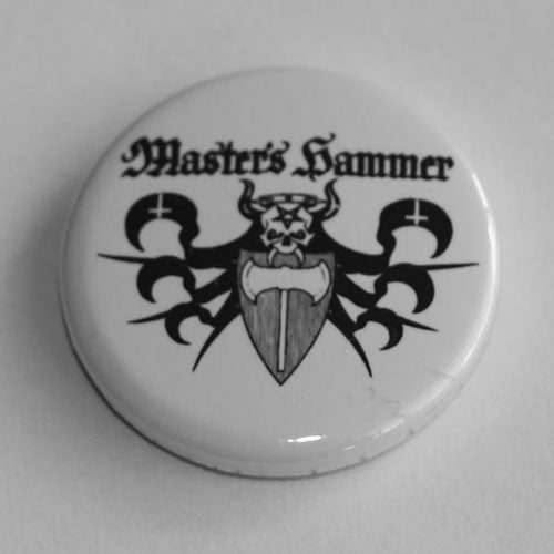 Master's Hammer - Black Logo (Badge)