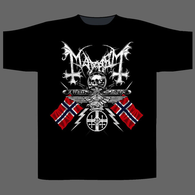 Mayhem - 1984-2009 Coat of Arms (T-Shirt)