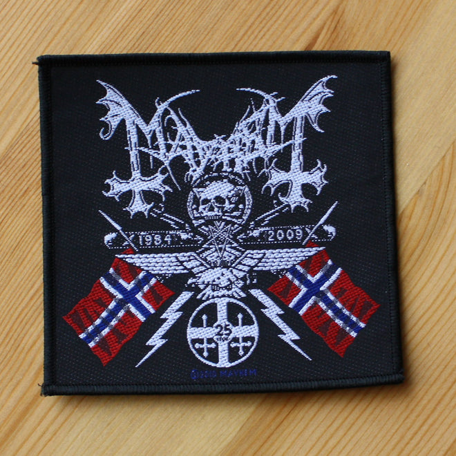 Mayhem - 1984-2009 Coat of Arms (Woven Patch)