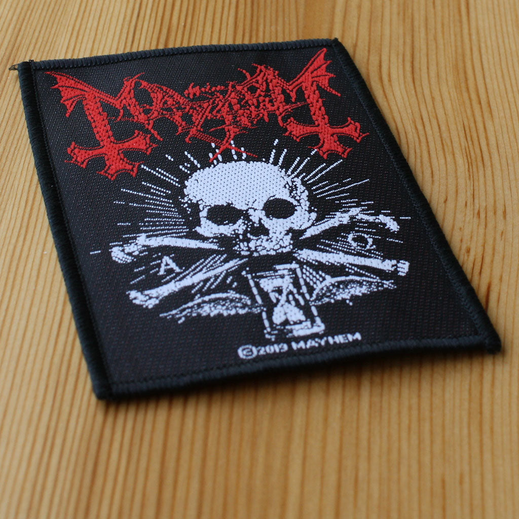 Mayhem - Alpha Omega Daemon (Woven Patch)