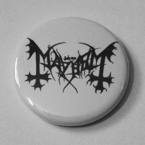 Mayhem - Black Logo (Badge)