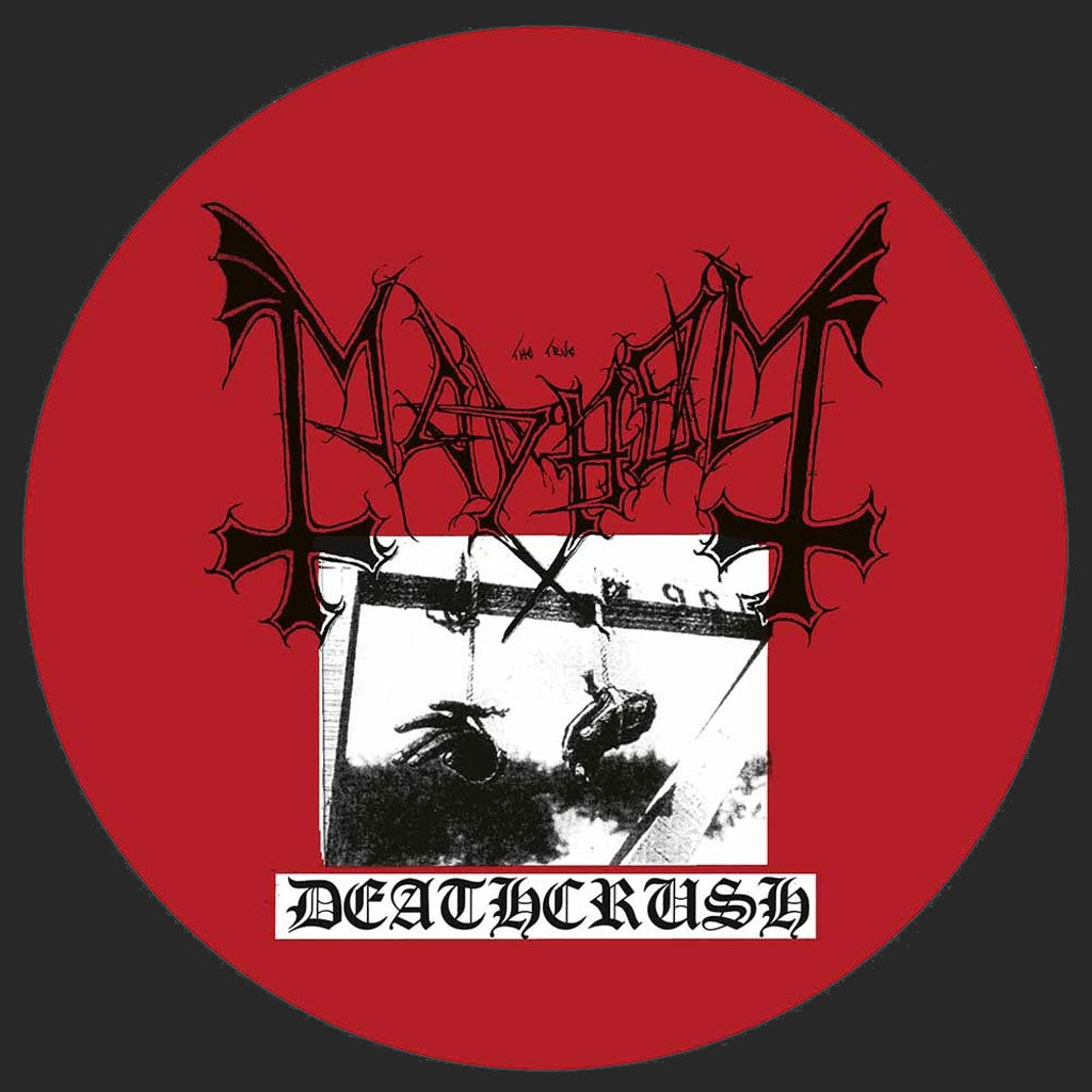 Mayhem - Deathcrush (2017 Reissue) (Picture Disc LP)